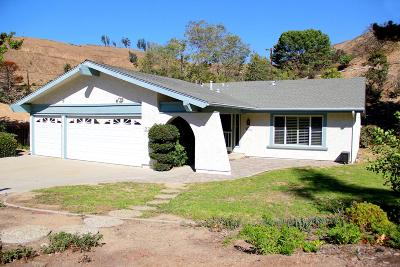 Ventura Single Family Home For Sale: 229 Channel Heights Court