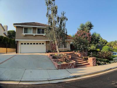 Thousand Oaks Single Family Home For Sale: 3178 Rikkard Drive