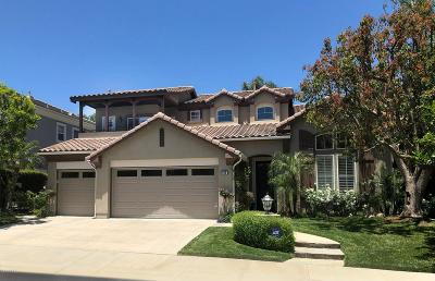 Simi Valley Single Family Home For Sale: 265 Knoll Ridge Road