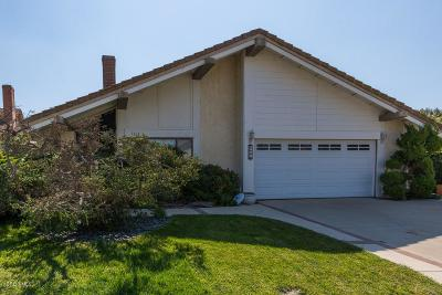 Camarillo Single Family Home For Sale: 1616 Old Ranch Road