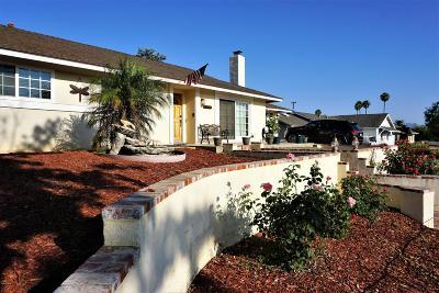 Thousand Oaks Single Family Home For Sale: 2992 Camino Calandria