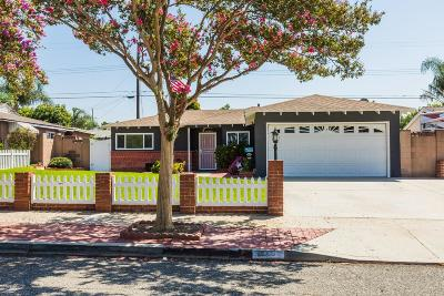 Simi Valley Single Family Home For Sale: 2148 Wisteria Street