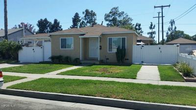 Long Beach Single Family Home For Sale: 21945 South Salmon Avenue