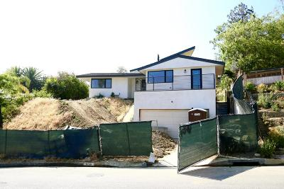 Los Angeles County Single Family Home For Sale: 3658 Willowcrest Avenue