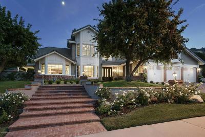 Agoura Hills Single Family Home Sold: 29504 Bertrand Drive