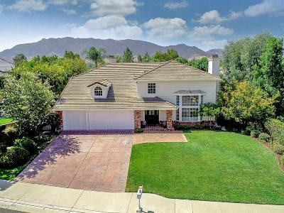 Agoura Hills Single Family Home Sold: 29960 Forest Cove Lane
