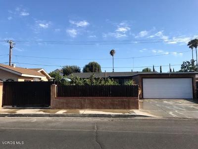 Moorpark Single Family Home For Sale: 412 Sherman Avenue
