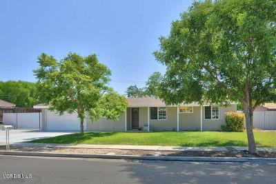 Thousand Oaks Single Family Home For Sale: 1254 Whitecliff Road