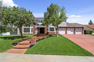 Agoura Hills Single Family Home For Sale: 29507 Bertrand Drive