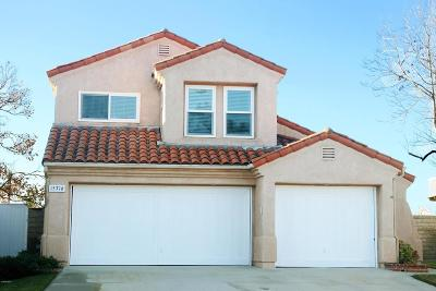 Moorpark Single Family Home For Sale: 15716 Milne Circle