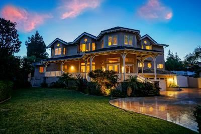 Thousand Oaks Single Family Home For Sale: 933 Calle Las Trancas