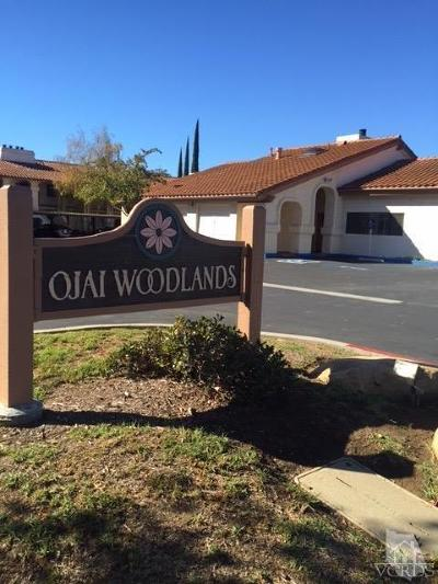Ojai Condo/Townhouse For Sale: 848 Woodland Avenue #26