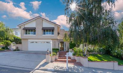 Thousand Oaks Single Family Home For Sale: 325 Fox Ridge Drive