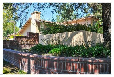 Thousand Oaks Condo/Townhouse For Sale: 1756 Shady Brook Drive