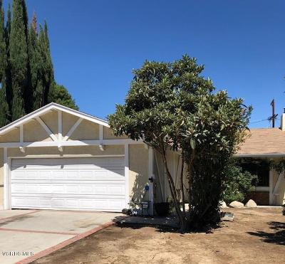 Canoga Park Single Family Home For Sale: 22045 Schoolcraft Street