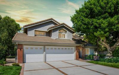 Thousand Oaks Single Family Home For Sale: 2832 Jason Court