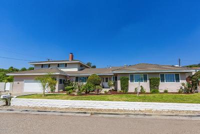 Camarillo Single Family Home For Sale: 624 Mission Drive