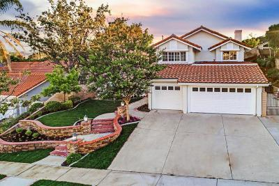 Simi Valley Single Family Home For Sale: 3233 Crazy Horse Drive