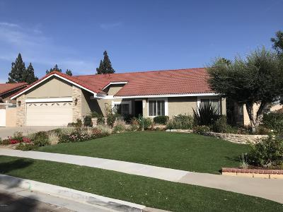 Simi Valley Single Family Home For Sale: 2804 Tiffaney Lane