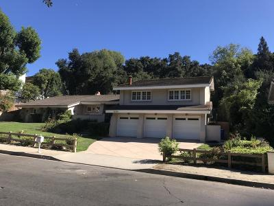 Westlake Village Single Family Home For Sale: 31930 Foxfield Drive