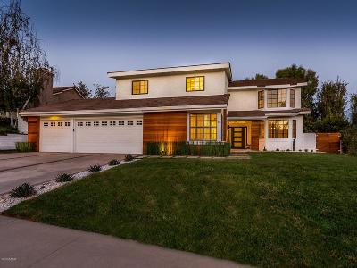 Agoura Hills Single Family Home Active Under Contract: 5760 Ridgebrook Drive