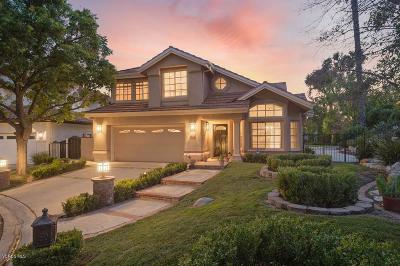 Westlake Village Single Family Home Active Under Contract: 1793 Saint Andrews Place