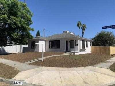 Encino Single Family Home Sold: 6370 Yarmouth Avenue