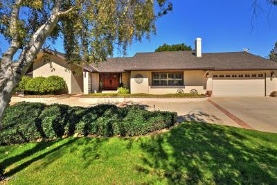 Camarillo Single Family Home For Sale: 2451 Blanchard Place