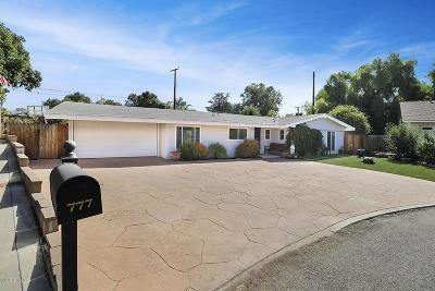 Thousand Oaks Single Family Home For Sale: 777 Calle Naranjo