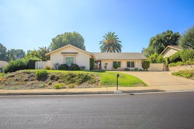 Thousand Oaks Single Family Home For Sale: 554 Lynwood Street