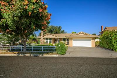 Thousand Oaks Single Family Home For Sale: 1145 Valley High Avenue