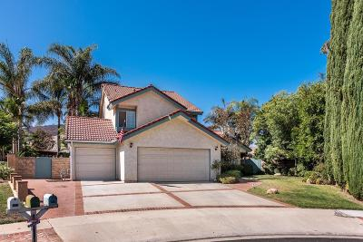 Simi Valley Single Family Home Active Under Contract: 417 Appleton Road