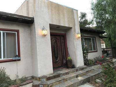Thousand Oaks Single Family Home For Sale: 331 Fairview Road