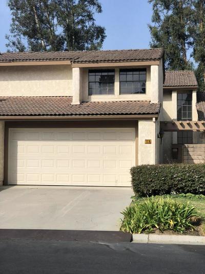 Ventura Condo/Townhouse For Sale: 887 Miller Court