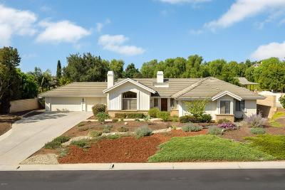 Camarillo Single Family Home For Sale: 2001 San Onofre Drive