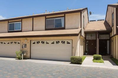 Northridge Condo/Townhouse For Sale: 17241 Roscoe Boulevard #5