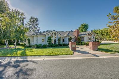 Westlake Village Single Family Home Sold: 1493 Falling Star Avenue