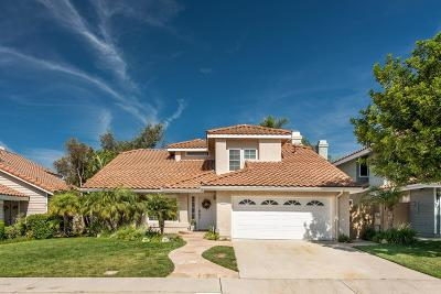 Moorpark Single Family Home For Sale: 12309 Willow Hill Drive