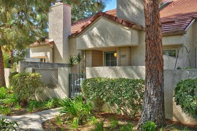 Westlake Village Condo/Townhouse For Sale: 1089 Via Colinas