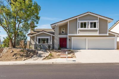 Thousand Oaks Single Family Home For Sale: 1696 Shadow Oaks Place