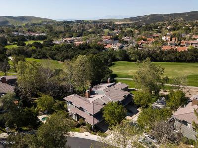 Westlake Village Condo/Townhouse For Sale: 4647 Club View Drive