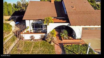 Newbury Park Single Family Home For Sale: 64 East Kelly Road