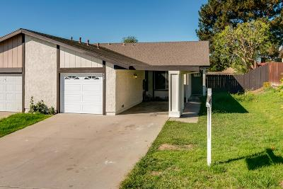Camarillo Single Family Home For Sale: 667 Hillcrest Drive
