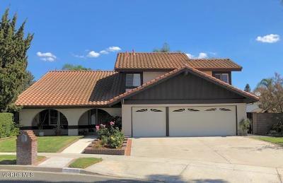 Simi Valley Single Family Home For Sale: 2962 Jadestone Avenue