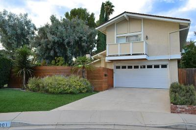 Thousand Oaks Single Family Home For Sale: 1901 Rosewood Court