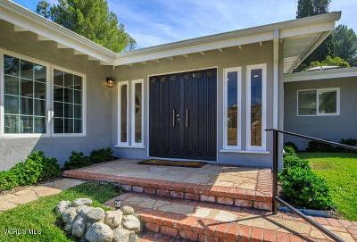 Encino Single Family Home For Sale: 16655 Calneva Drive