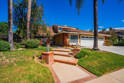 Simi Valley Single Family Home Active Under Contract: 384 Valley Gate Road