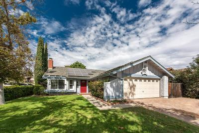 Camarillo Single Family Home For Sale: 5743 Fieldcrest Drive