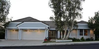 Thousand Oaks Single Family Home For Sale: 2246 Ranch View Place