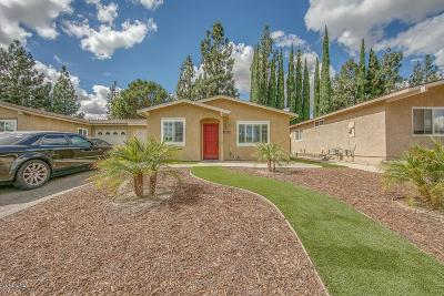 Simi Valley Single Family Home For Sale: 1765 Moreno Drive